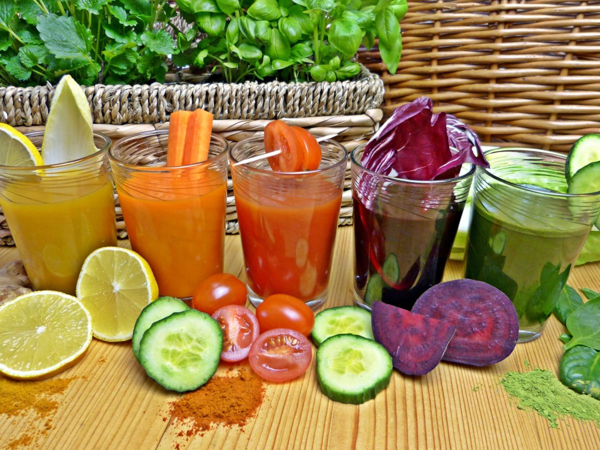 organic vegetable juice